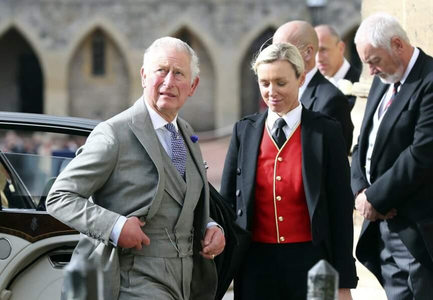 Le prince Charles au mariage de la princesse Eugenie et Jack Brooksbank