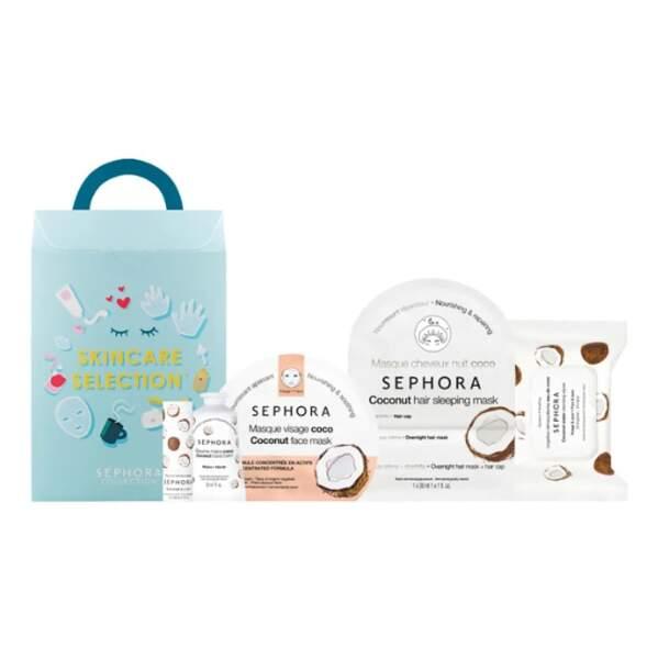Kit de soin à la coco, Sephora Collection, 19,99€