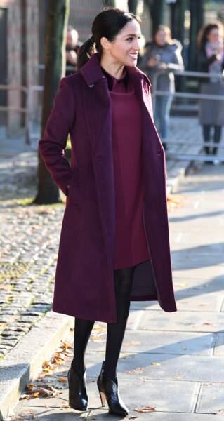 La duchesse de Sussex a rendu visite aux rescapés de l'incendie de la tour Grenfell
