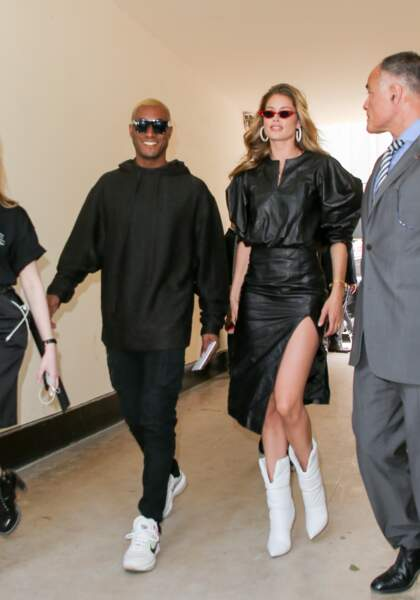 Fashion week Hommes, défilé Louis Vuitton : Sunnery James et Doutzen Kroes