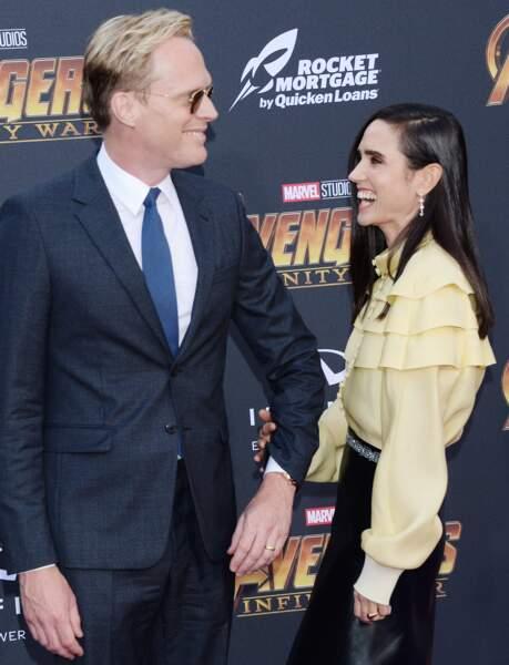 Première mondiale d'Avengers: Infinity War - Paul Bettany et Jennifer Connelly