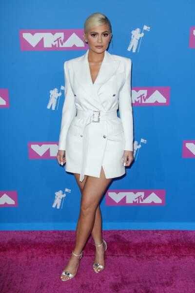 Kylie Jenner en Tom Ford aux MTV Video Music Awards 2018, le 20 août, à New York