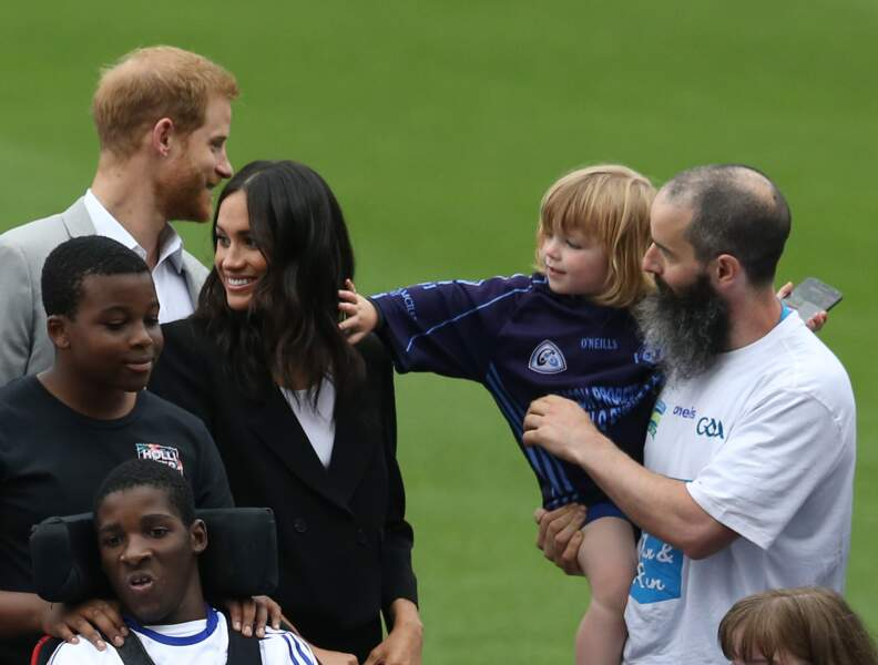 Meghan Markle et le prince Harry en visite officielle en Irlande ce mercredi 11 juillet 2018