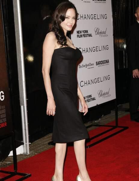 Angelina Jolie le 4 octobre 2008