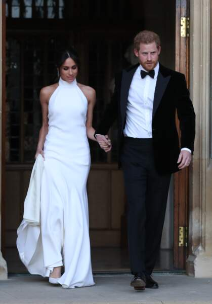Le prince Harry et sa femme Meghan Markle se mettent en route pour Frogmore House