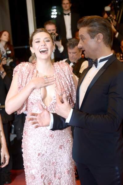 Elizabeth Olsen et Jeremy Renner