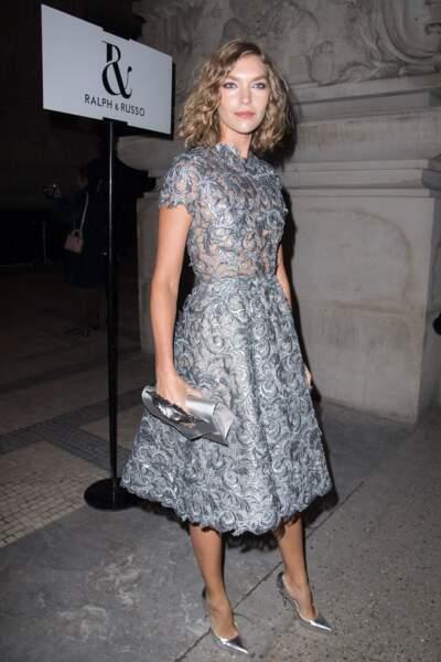 Fashion Week Haute Couture : le mannequin Arizona Muse