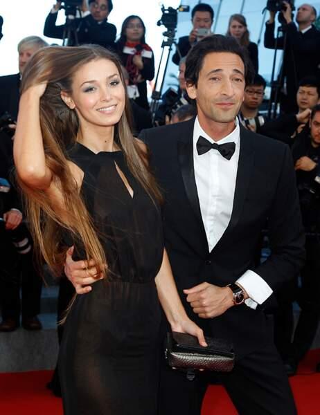 Adrien Brod et sa petite amie Lara Lieto
