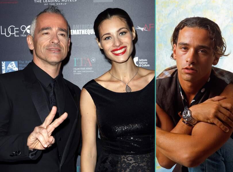Eros Ramazzotti aujourd'hui à 52 ans et à 27 ans, l'âge actuel de sa compagne Monica Pellegrinelli