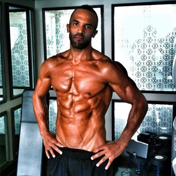 Craig David, très fier de son body
