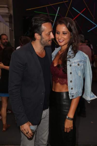 Malika Ménard en compagnie de son amoureux, l'acteur Michaël Cohen