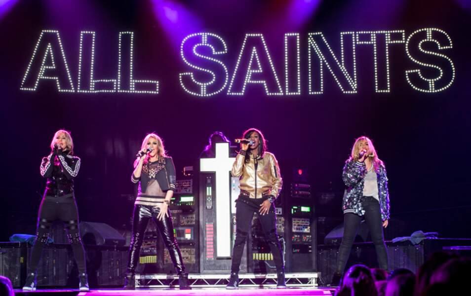 En 2014, les All Saints se reforment pour assurer la première partie des Backstreet Boys
