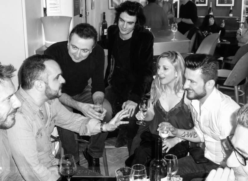 Concert de Michal : le chanteur en présence de François-Xavier Demaison et ses amis