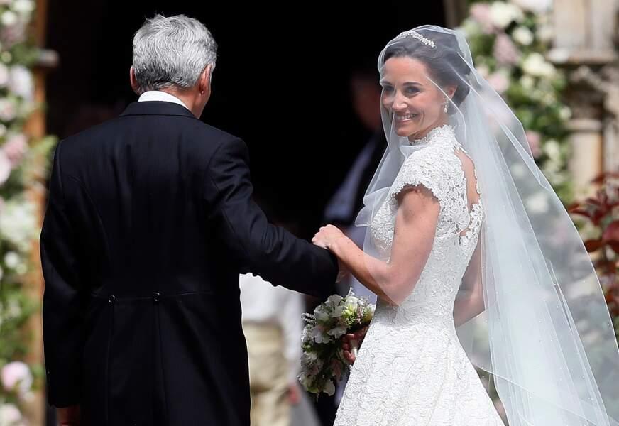 Pippa Middleton et son papa Michael