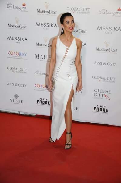 Amy Jackson à la soiree de Gala Global Gift 2017, à Cannes