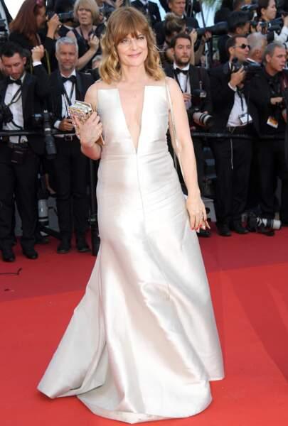 Cannes - Montée des Marches pour le 70ème anniversaire : Nastassja Kinski