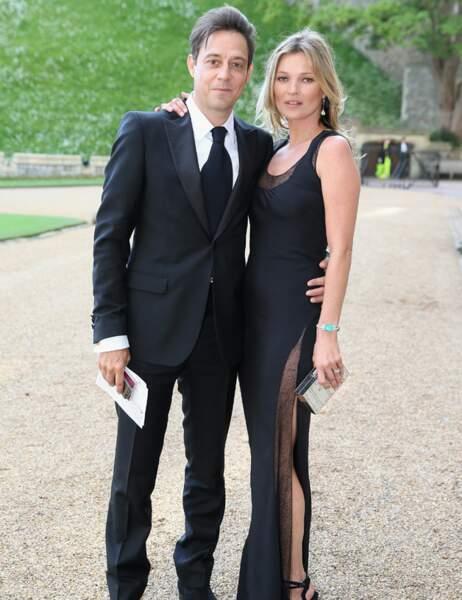 Kate Middleton peut se rassurer, Kate Moss était accompagnée de Jamie Hince