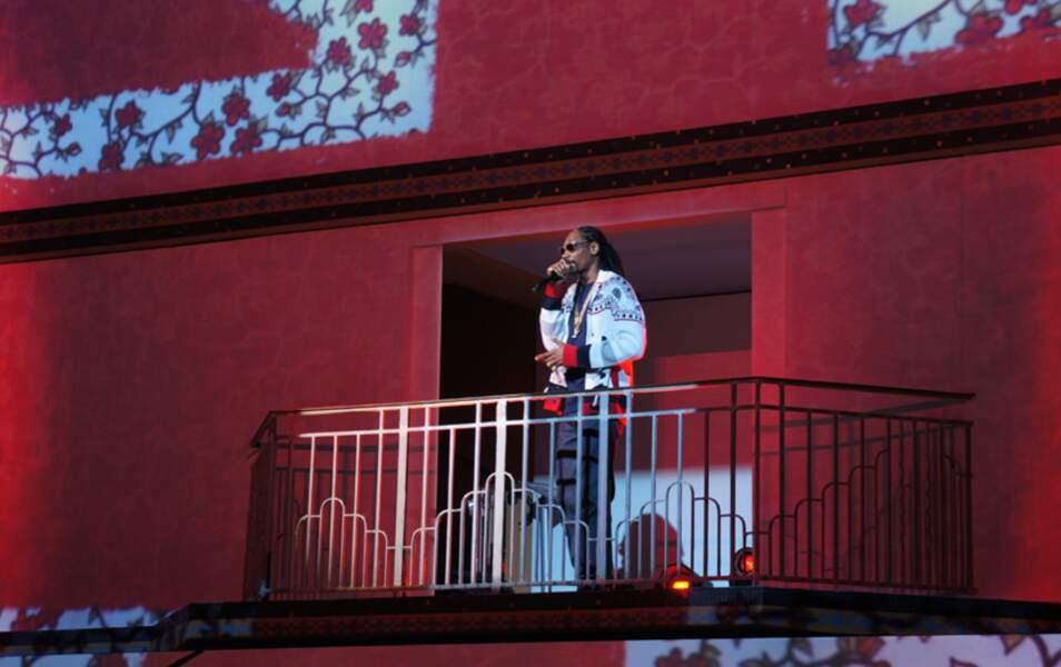 Défilé Etam à Molitor : Snoop Dogg