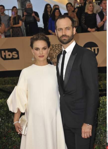 SAG Awards 2017 : Benjamin Millepied et Natalie Portman