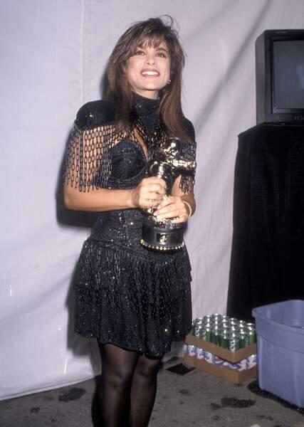 MTV Video Music Awards : Paula Abdul en 1989, à l'âge d'or des épaulettes