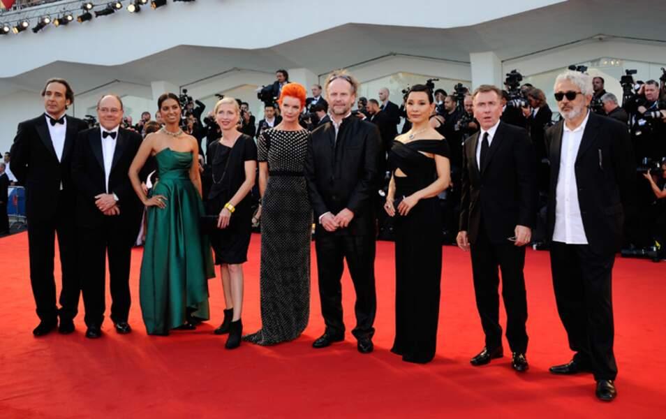 Le jury de la 71e Mostra de Venise