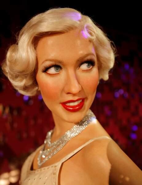Il restait 3 kilos de cire, du coup ils se sont fait plaisir au moment d'attaquer la tête de Christina Aguilera
