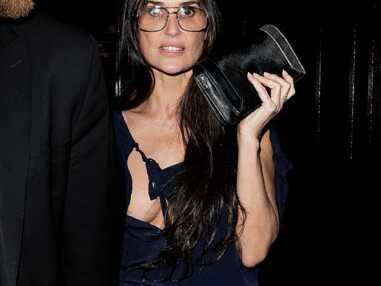 Demi Moore : trahie par sa robe, elle en montre beaucoup trop…