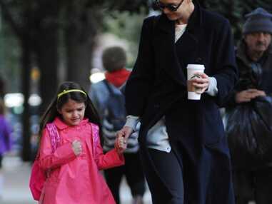 Katie Holmes emmène sa fille Suri Cruise à l'école