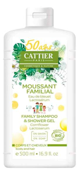 Moussant Familial. 500 ml, 9,40 €, Cattier