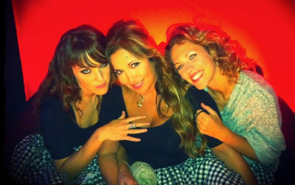 Instant tendresse pour Zaz, Hélène Segara et Lorie