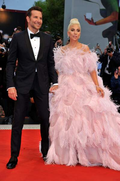Lady Gaga et Bradley Cooper à la 75e Mostra de Venise