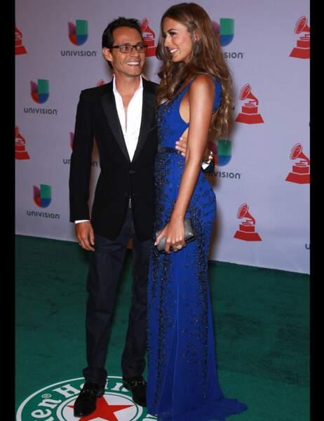 Marc Anthony n'a d'yeux que pour sa jeune épouse, Shannon de Lima