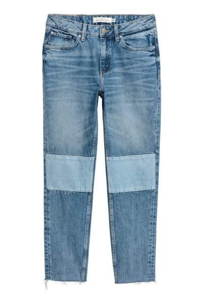 Straight regular ankle jeans, H&M, 19,99 euros au lieu de 39,99 euros