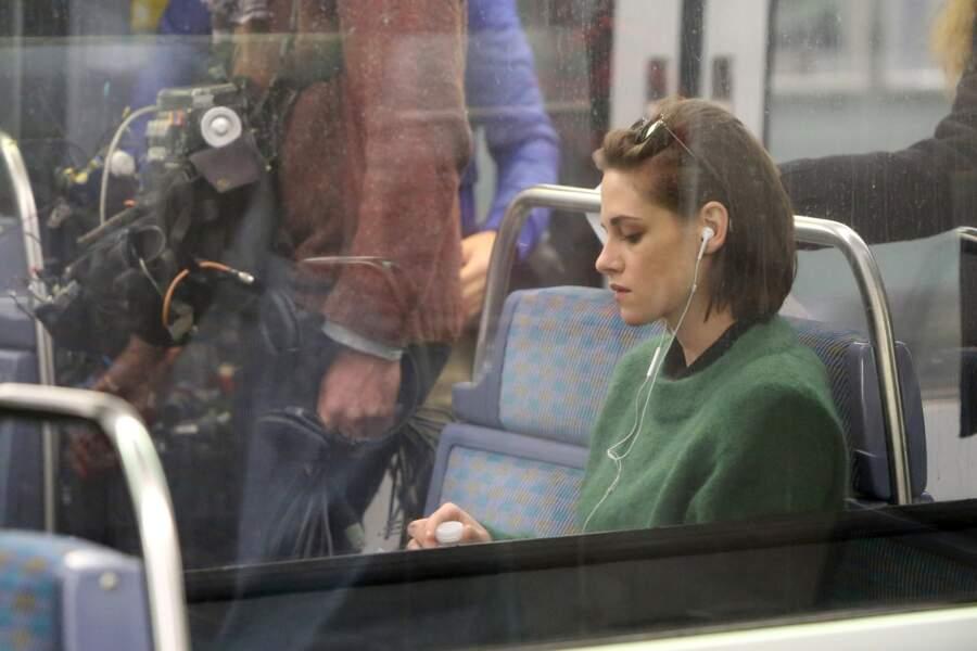 Kristen Stewart a vécu un moment de grâce dans le métro parisien