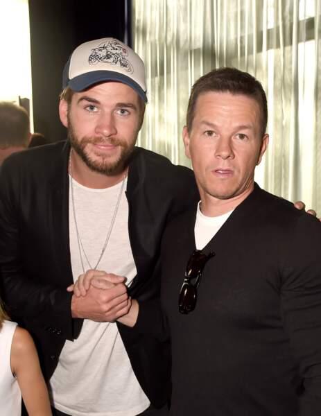 Liam Hemsworth et Mark Whalberg