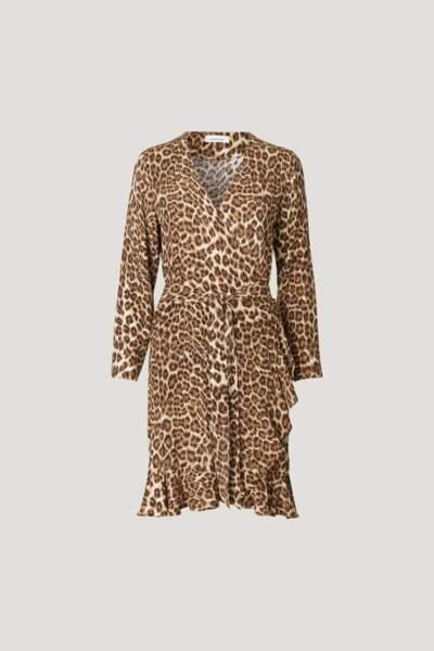 Robe léopard, Samsoe et Samsoe, 119€