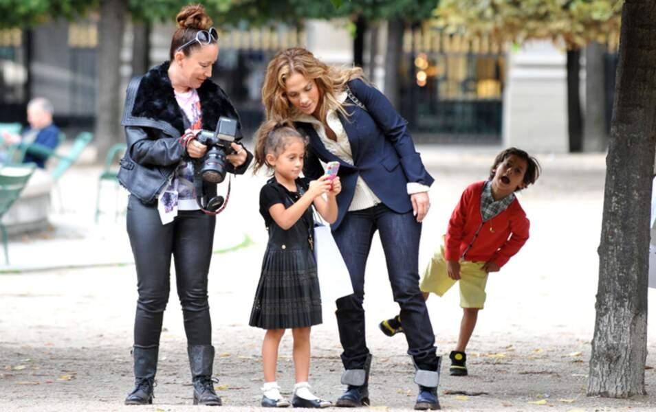 J-Lo et sa tribu