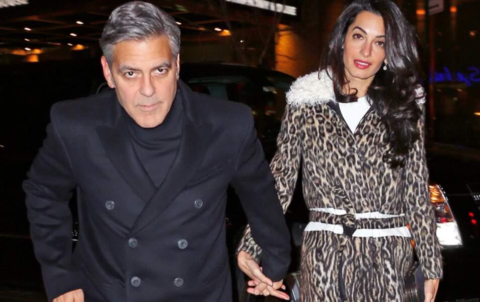 Le power couple d'Hollywood est heureux, si si ! (George Clooney et Amal Alamuddin)