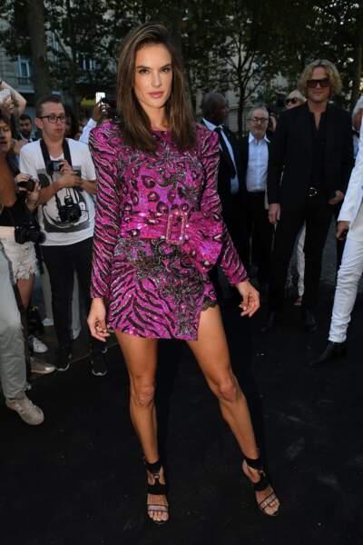 Dîner Vogue : Alessandra Ambrosio
