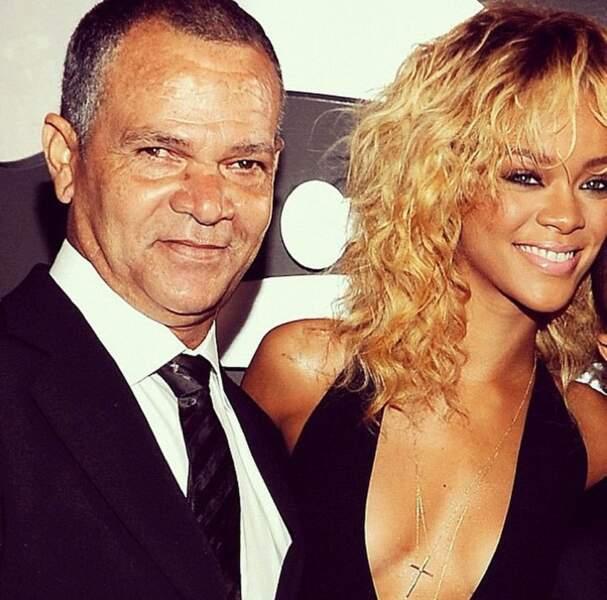 Rihanna et son papa