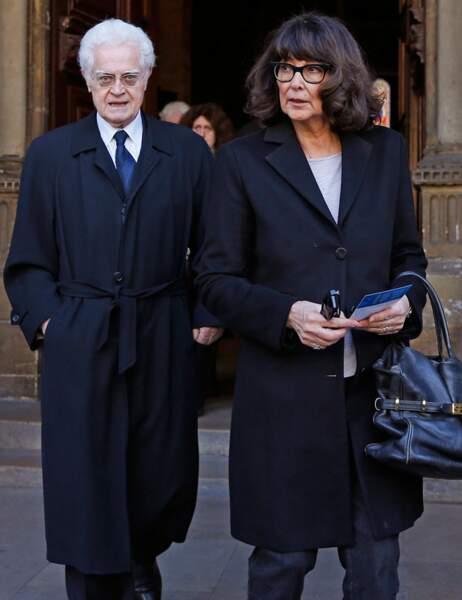 L'ancien Premier ministre Lionel Jospin et sa femme Sylviane Agacinsky
