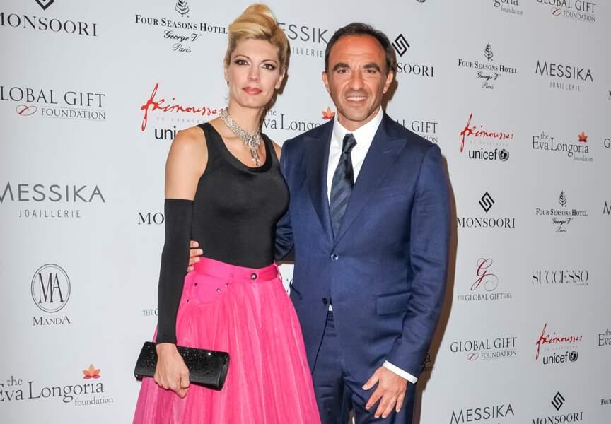 Nikos Aliagas est venu accompagné de Tina Grigoriou
