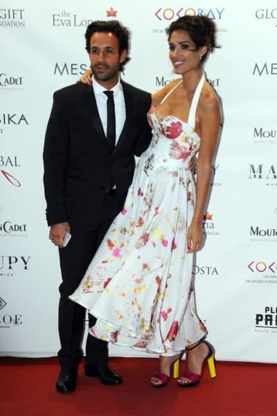 Laurie Cholewa à la soiree de Gala Global Gift 2017, à Cannes