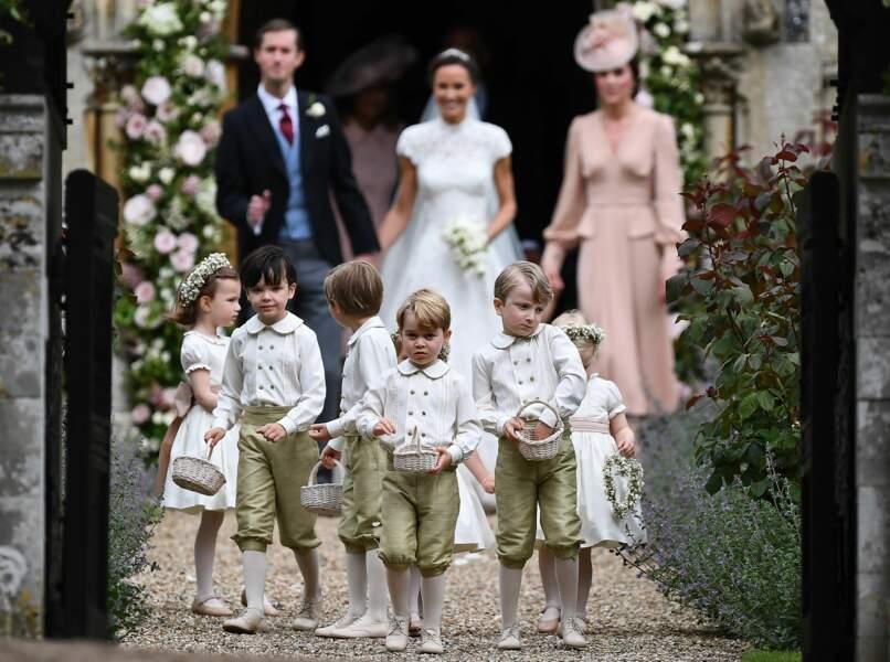 Les mariés, Kate Middleton et les enfants