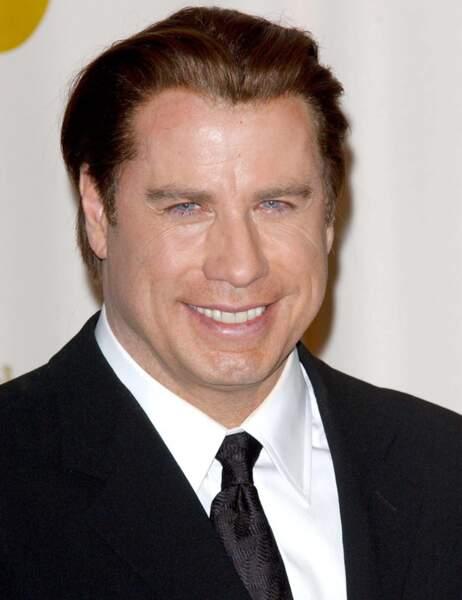 Perte de poids de stars : John Travolta avant