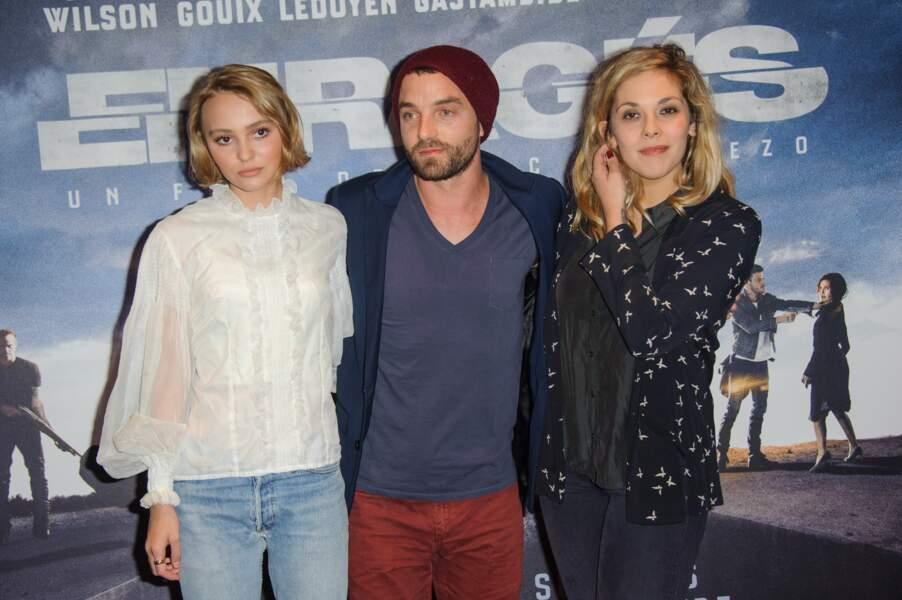 Lily-Rose Depp, Guillaume Gouix, Alysson Paradis