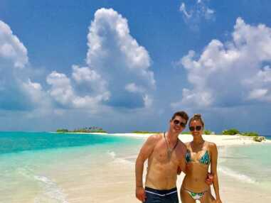 Les vacances TRÈS sexy d'April Love Geary, la chérie de Robin Thicke