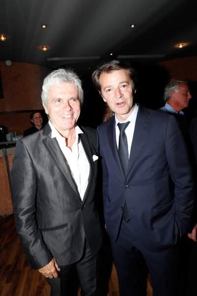 Claude Sérillon et François Baroin se sont offert aussi une petite virée en péniche pour les 90 ans de Line Renaud