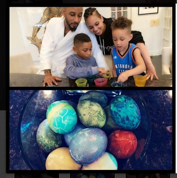 Joyeuses Pâques en famille pour Alicia Keys