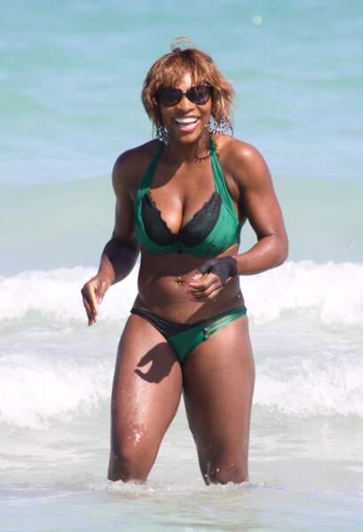Les pires maillots des people en vacances : Serena Williams à Miami